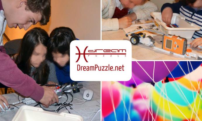 Festa Dreampuzzle costruire e programmare un robot