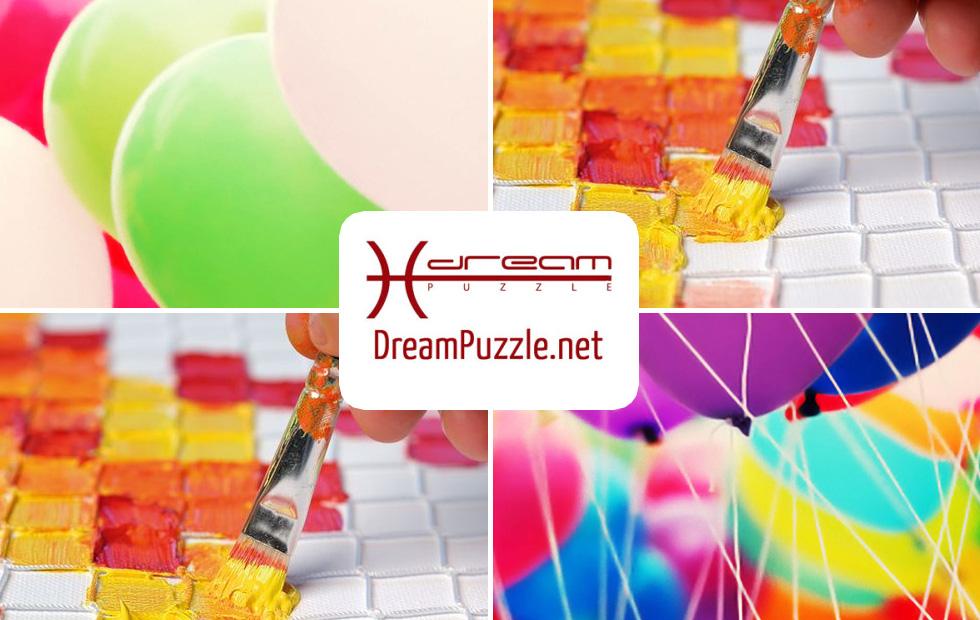 Festa Dreampuzzle Quadratologo-Aktion auf Langeoog