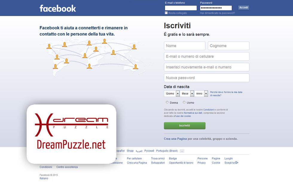 Corso facebook a Brescia Dreampuzzle