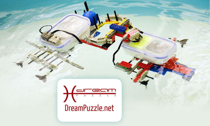 Costruire un Remotely operated vehicle subacqueo con Dreampuzzle