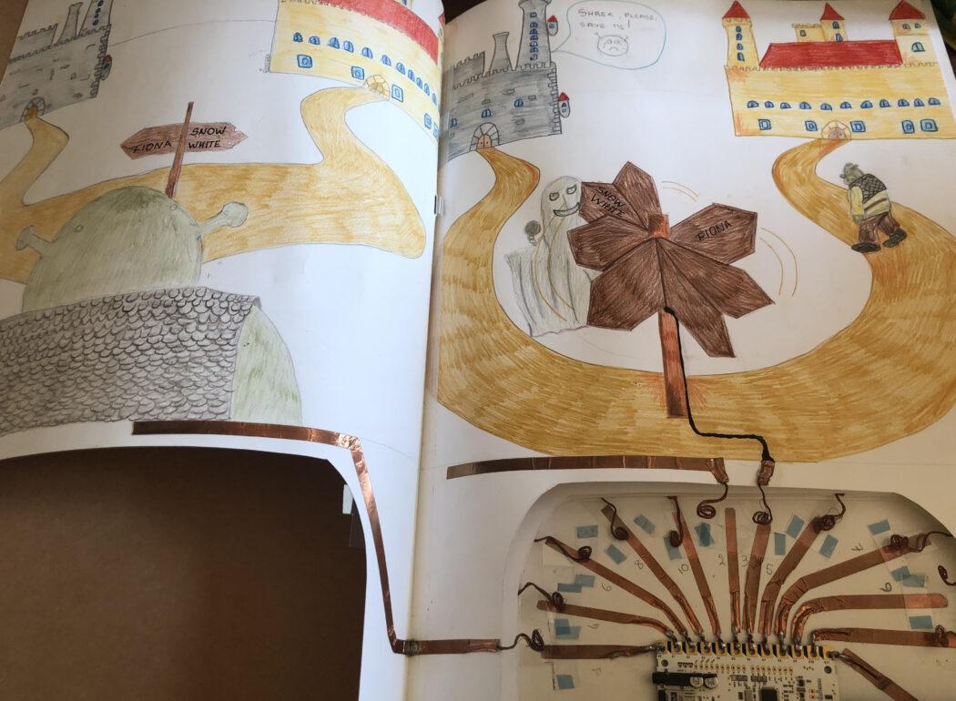 libro luminoso parlante scopri il modno dei circuicti con Dreampuzzle